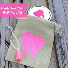 Create Your Own Tooth Fairy Kit + GIVEAWAY. Dozens of other vinyl projects with expressionsvinyl vinylprojects - DIY Home Project Diy Vinyl Projects, Vinyl Crafts, Craft Projects, Craft Ideas, Project Ideas, Paper Crafts, Circuit Projects, Sewing Projects, Shilouette Cameo