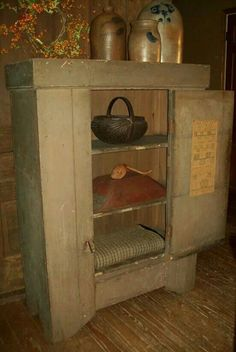 Inside, Early Country Antiques