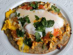 Food Pleasure Health: Chatamari... nepali (newari) food.. yumm. we don't use black lentils or egg in the batter but it looks yummy this way too.