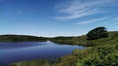 The pond. Rathlin Island. #my own #S.Campbell