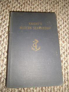 Knight's Modern Steamship Austin M. Knight 13th Ed. 1960 HC Illustrated
