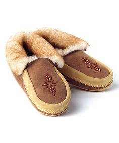 This Manitobah Mukluks Tan Red River Moccasin by Manitobah Mukluks is perfect! #zulilyfinds