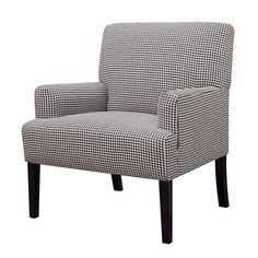 Coaster Fine Furniture 902083 Accent Chair This Coaster Fine Furniture product is offered with black & white houndstooth patterned fabric upholstery.
