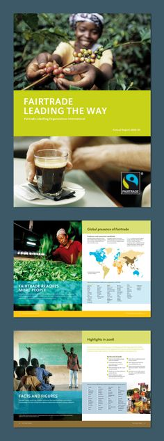 FAIRTRADE Labelling, Organizations international, Bonn – Annual Report