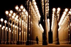 los angeles city museum of art at night - Google Search