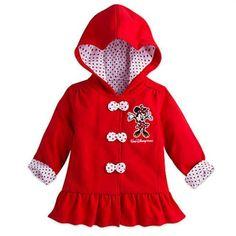 Minnie Mouse Hooded Jacket for Baby - Walt Disney World 24 Months #WaltDisneyWorld #Jacket #Everyday