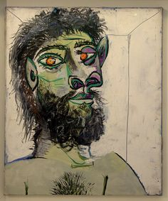 Picasso Pablo - Tête d'homme barbu | Flickr - Photo Sharing!