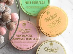 LUX stocking stuffer! Charbonnel et Walker Signature Truffles    As decadent as they are prettily packaged, the champagne-infused truffles come from the royal chocolate manufacturer to Her Majesty the Queen.    Available at neimanmarcus.com, $25.