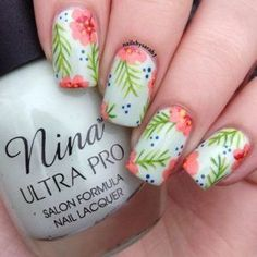 After perusing this list of 40 nail art trends, we have a feeling you'll be dialing your manicurist for more than just a polish change. Or, for the more adventurous beauty addicts, you may be rushing out for a few new bottles of polish to nail these DIY looks at home. #nailartdiy #nailpolishbottles #nailpolishtrends