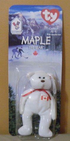 Mcdonalds Exclusive 1999 BRITANNIA The Bear Teenie Beanie Baby New ... 3e17d20fabd