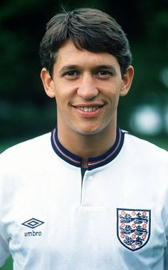 circa 1989 Gary Lineker England who played for Leicester City Everton Barcelona and Tottenham Hotspur winning 80 England caps from 19841992 English Football Teams, Football Icon, Uk Football, National Football Teams, Football Photos, Vintage Football, England Football Players, England Players, English National Team