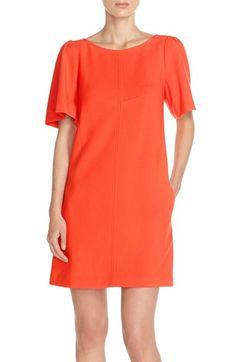 Trina Turk 'Salome' Flutter Sleeve Shift Dress available at #Nordstrom