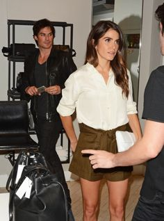 Actor Ian Somerhalder attends the Nikki Reed Freedom Of Animals Capsule Collection Trunk Show at Bloomingdale's Soho on October 2015 in New York City. Nikki Reed, Ian And Nikki, The Vampire Diaries, Damon Salvatore, Ian Somerhalder, Nina Dobrev, Louisiana, October 10, Spring Style