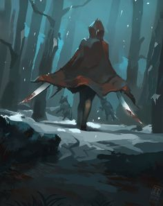 Red riding hood gone rampage by Raph04art