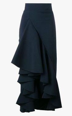 Awake ruffled maxi skirt, $715  