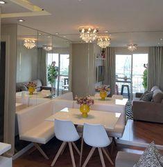 Dining Corner, Kitchen Dinning Room, Dining Nook, Banquette Seating In Kitchen, Dining Room Bench Seating, Luxury Kitchen Design, Home Interior Design, Living Room Setup, Dinner Room