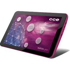 """Tablet CCE Motion Gloss TR92P - Dual Core - 8GB - Wi-Fi - Tela de 9"""" - Android 4.2 - Rosa Compre em oferta por R$ 279.00 no Saldão da Informática disponível em até 6x de R$46,50. Por apenas 279.00"""