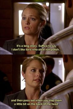 Do not mess with Juliet. Love this show! Psych Memes, Psych Quotes, Psych Tv, Tv Quotes, Movie Quotes, Best Tv Shows, Best Shows Ever, Favorite Tv Shows, Movies And Tv Shows