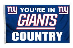 New York Giants Flag 3x5 Country