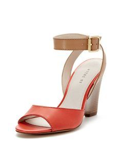 Shiloh Two-Piece High Wedge Sandal by Wythe NY at Gilt