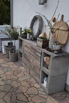 Outdoor Projects, Garden Projects, Garden Deco, Outdoor Living, Outdoor Decor, Backyard Patio, Garden Furniture, Outdoor Gardens, Pergola