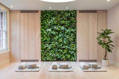 Oliver Heath Design is a sustainable architecture and interior design practice focused on improving health & well being through Biophilic Design. Visual Texture, Built Environment, Ceiling Beams, Sustainable Architecture, Plant Wall, Local Parks, Yoga, House Prices, Real Estate Marketing