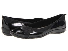 LifeStride Deliberate Black Glory - Zappos.com: might need to invest in some actually comfortable black flats
