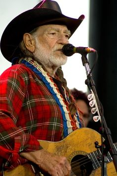 Willie Nelson - I LOVE Willie! A true Maverick and a one of a kind. Proud to say I've seen him a few times! Keep on token Willie! X-O-X