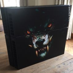 Werewolf - PS4 Console Skins Ps4 Skins, Werewolf, Playstation, Console, Gaming, Decor, Decoration, Video Games, Decorating