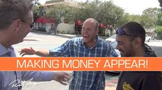MAKING MONEY APPEAR for Random People