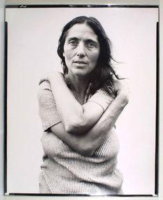 Richard Avedon, June Leaf, sculptor, Mabou Mines, Nova Scotia, July 17, 1975