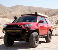 10 Lifted 5th Gen 4Runners that will Inspire Your 4Runner Build Toyota Lift, Black Rhino Wheels, Nitto Ridge Grappler, Mod List, Rock Sliders, Bull Bar, Windshield Washer, Front Runner