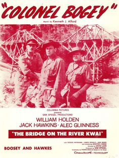 COLONEL BOGEY - 1916 - MARCH - THE BRIDGE ON THE RIVER KWAI - FILM MUSIKNOTE