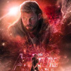 Thor in Avengers End Game Marvel Avengers, Avengers 2012, Avengers Quotes, Avengers Imagines, Avengers Cast, Marvel Dc Comics, Loki Quotes, Marvel Fanart, Films Marvel