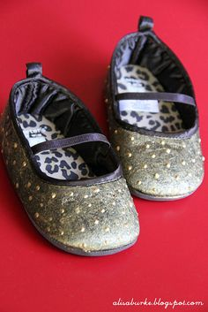 altered baby shoes by alisa burke
