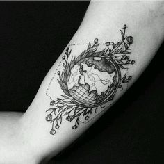 Beautiful World Tattoo!