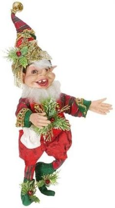Mark Roberts Toy Maker Elf Christmas Fairy, Christmas Items, Santa Christmas, Christmas Ornaments, Mark Roberts Elves, Mark Roberts Fairies, Elf Me, Santa Doll, Elves And Fairies