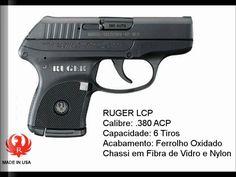 Armas De Fogo Em Calibres Permitidos No Brasil