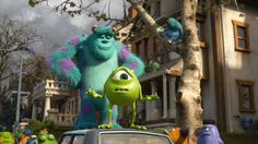 Monsters University unlocks the door on how Mike and Sulley overcame their differences and became the best of friends. Disney Pixar, All Disney Movies, Pixar Movies, Disney Magic, Walt Disney, Monsters University, Monsters Inc, 3d Animation, Disney Animation