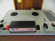 DDR Tesla Tonbandgerät, VEB, Ostalgie, Shabby Chic TESLA B57 • EUR 39,99