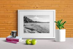 Landscape Photography Print Beach Costa Rica Palm Trees Sand Home & Living Art Pacific Ocean by BryceJacksonPhotos on Etsy