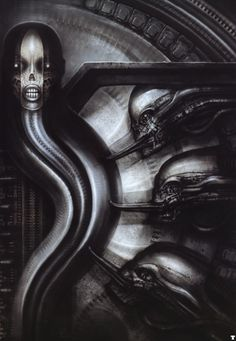 H. R. Giger - Biomechanoids