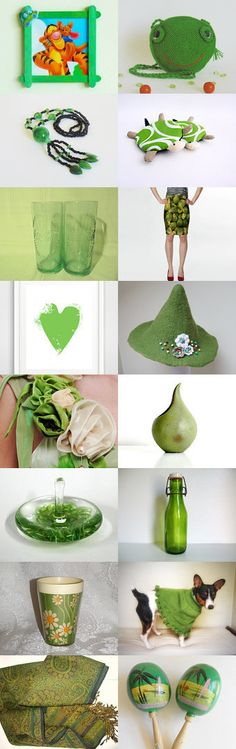 Green finds by styledonna on Etsy--Pinned+with+TreasuryPin.com