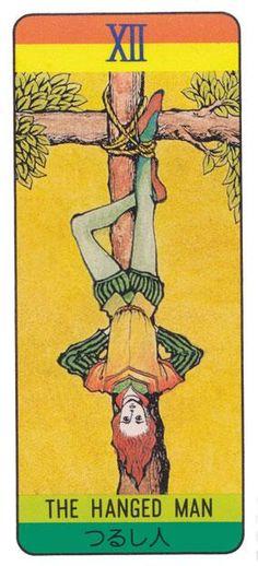 内田善美さんの壱ファン @uchida_yoshimi3 内田善美さんて、タロットカードの「吊るされた男」のイメージ。カードの最後に臨んでも、可能な限りの方法で、宇宙の理を指し示す。漫画家というより、表現者。作品に発表の仕方や順番とか含めて「表現」。