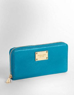 Jet Set Continental Wallet | Lord and Taylor...maybe in white?