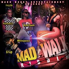 Mad Walk Riddim is a brand new dancehall juggling from Mad money Entertainment which features Erup, Melloquence, Nameless, Dazzla and Real F...