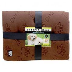 Sharper Image Dog and Cat Memory Foam Pet Pad Bed Brown