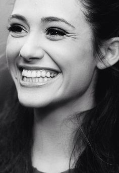 Emmy Rossum. She has such an incredible smile