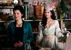 Pearl & Katherine. The Vampire Diaries.