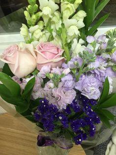 Snapdragon Rose SeaLAvender Stock Lovely day :)